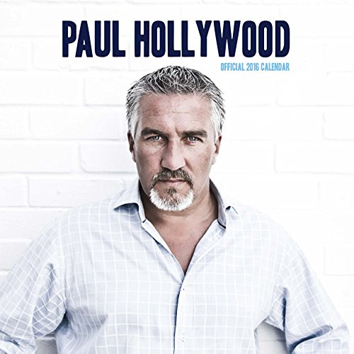 The Official Paul Hollywood 2016 Square Calendar