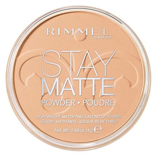 RIMMEL LONDON Stay Matte Long Lasting Pressed Powder - Nude Beige - Rimmel London Bleiben Matte