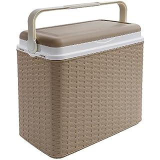 AK Sport Coolbox Kühlbox 24 L Rattan, beige, One Size, 1375020