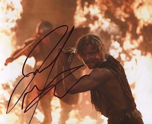todd-lasance-signed-spartacus-caesar-color-10x8-photo-action-scene