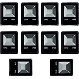 Ultra Slim 20W LED Flood Light FOCUS PURE COOL WHITE AC Outdoor Waterproof IP65 - (pack Of 10)