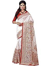 Applecreation Women's Bhagalpuri Sarees (printed Sarees_6PJ705_FreeSize)