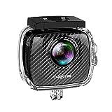 Magicsee P3 VR 360 Grad Panorama Kamera 4K 3040*1520 Doppelobjektiv 220° Fisheye WiFi Sports Action Kamera mit Go Wasserdicht Fall Pro 30M für iPhone iOS Android Smartphone app