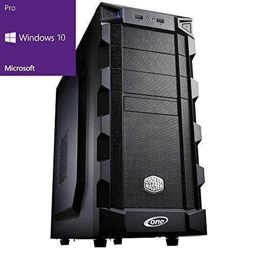 ONE Silent Gaming-PC Kaby Lake Core i7-7700, 4x 3.60 GHz (Quadcore) | 16 GB DDR4-RAM | 250GB SSD & 2000 GB HDD | Mainboard MSI Z270-A Pro | Cardreader | DVD-Brenner | 2 GB NVIDIA GeForce GTX 1050 (HDMI, DVI, DP) | 7.1 Sound | GigaBit-LAN| USB 3.0 | Windows 10 Pro 64-Bit (Nvidia Geforce 64 Mb)