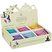 English Tea Shop - Organic Wellness Tea Collection - 60 Tea Sachets - 90g