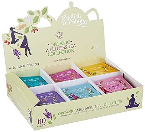 English Tea Shop - Organic Wellness Tea Collection - 60
