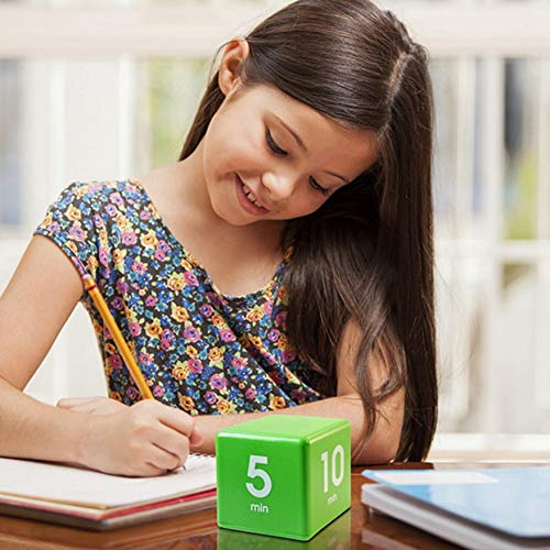 PTICA Cube Timer Küche Smart Wecker Nickerchen Erinnerung 5,15,30 & 60 Minuten voreingestellte Zeit Yoga Kochen Count Up Countdown Wecker C