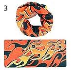 Interesting® Outdoor-Sport Bandana Solide Bandana Multifunktionstuch aus Mikrofaser nahtlose Schlauch Bandana magischer Schal
