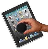 3-Pack Limpia-Pantallas para su iPad, Portátil, Ordenador de mesa, MacBook y su Móvil. Una alternativa ecológica a los paños limpia-pantallas. (black)
