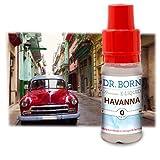 Dr. Born E-Liquid für E-Zigarette (0,0 mg Nikotin) Havanna 10ml
