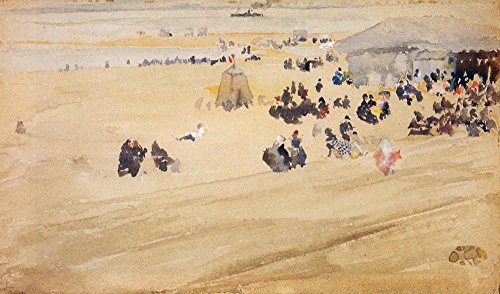 Das Museum Outlet-Beach Scene by Whistler-A3Poster