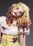Mujeres Gothic Zombie Ricitos de oro rubia peluca