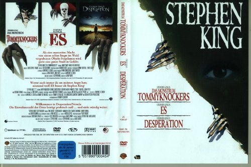 Stephen King Collection auf 3 DVDs: Das Monstrum Tommyknockers, Es und Desperation