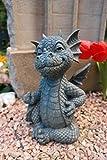 Figure de jardin Dragon 'Doigt de moyenne' décoration