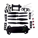 YouCute piezas de repuesto paraMJX B6 Bugs 6 B6F B6FD Rc Drone blades Soporte de la batería(kit grande)