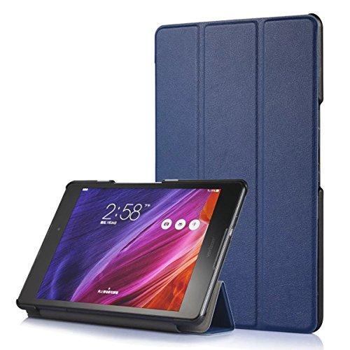 tablet asus 8 Kepuch Custer ASUS Zenpad Z8 ZT581KL / Zenpad 3 8.0 Z581KL Custodia - PU Pelle Folio Custodia Case Cover per ASUS Zenpad Z8 ZT581KL / Zenpad 3 8.0 Z581KL - Blu