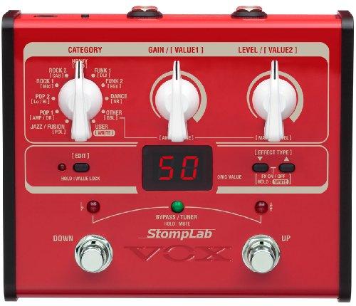 VOX StompLab I, Multieffekt für Bass, Amp- und FX Modeling