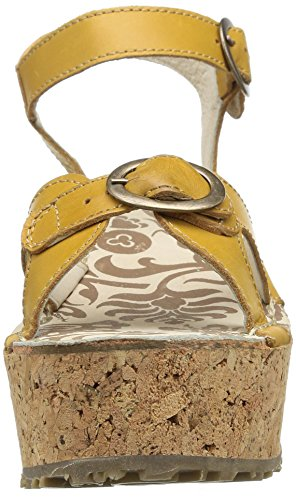 FLY London - Cali, sandali  da donna Marrone (Marron (Mustard))