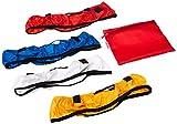 Neewer Vierfarb Faltbar Tragbarer Video-Ring Light Softbox Diffusor Tuch Kit für Neewer 35,6cm 50W Ring Licht und 36W LED-Ring Licht, Hohe lichttransmission Material (Rot, Gelb, Weiß, Blau)