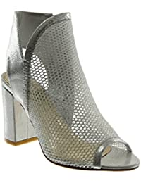 Zapatos turquesas de punta abierta formales PrimaDonna para mujer 7jfe5