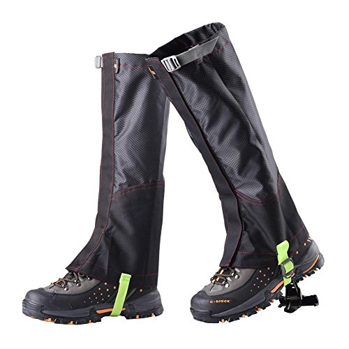 51OXzvyuMeL. SS500  - Snow Legging Gaiter 600D Oxford Cloth Waterproof Trekking Leg Protection for Outdoor Hiking Walking Climbing
