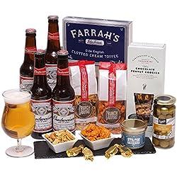 Cerveza Cesto Para Él - EE.UU. cerveza - cerveza Cestos, Cestas para hombre Recuerdos y Cestas de regalo de cumpleaños para él