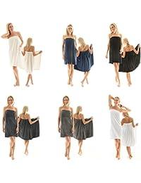 Para mujer Celinatex para sauna forro polar, con cierre de velcro, una bolsa, más fácil de falda escocesa, Málaga,…