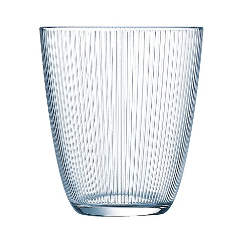 Luminarc Stripy - Set de 6 vasos altos, de 31 cl