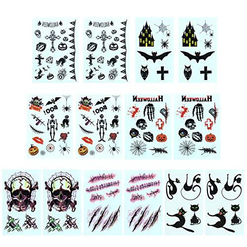 een Tattoo Sticker Waterproof Creative Fake Tattoo Temporary Tattoo ()