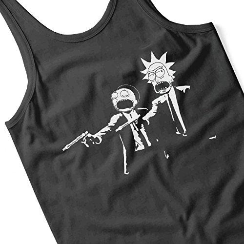 Rick And Morty Pulp Fiction Women's Vest Black
