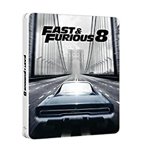Fast & Furious 8 [Combo Blu-ray + DVD + Copie digitale - Édition boîtier SteelBook]