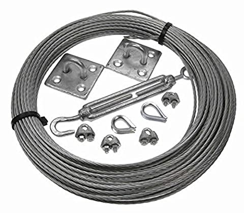 More Than Just Ropes 3mm Galvanised Steel Catenary Kits (0236548512356)