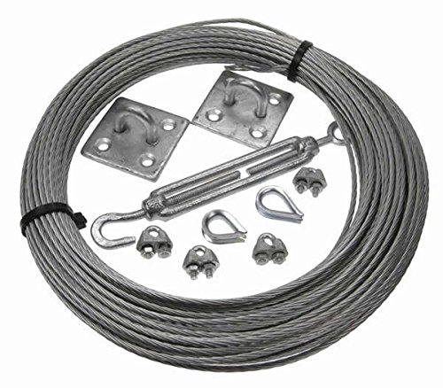 More Than Just Ropes 3mm Galvanised Steel Catenary Kits (0236548512356) - 15 Test