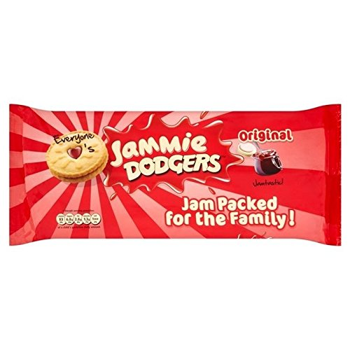 Jammie Dodgers Double Origine Paquet 280G - Paquet de 6