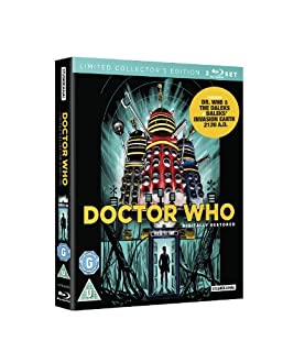 Doctor Who - Daleks Limited Collector's Edition (2-Film Set) [Blu-ray] (B00BMMHIMI) | Amazon price tracker / tracking, Amazon price history charts, Amazon price watches, Amazon price drop alerts