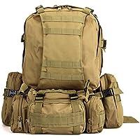 Gleader Kit Mochila Tactica Militar Camping Viaje Supervivencia Every Day Carry Caqui