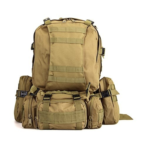 Gleader Kit Mochila Tactica Militar Camping Viaje Supervivencia Every Day Carry Caqui