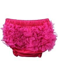 Bigood Culotte Bébé Unisexe Coton Slip Fleurs Elastique
