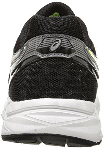 Asics Mens Gel-Contend 3 Running Shoe Carbon / Flash Yellow / Black