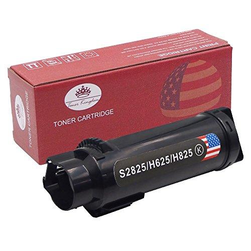 Preisvergleich Produktbild Toner Kingdom Schwarz Tonerpatrone kompatibel für Dell H625cdw H825cdw S2825cdn, 3000 Seiten