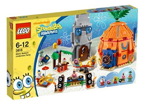 LEGO SpongeBob 3818 - Unterwasser-Party in Bikini Bottom (Spongebob Thaddäus)