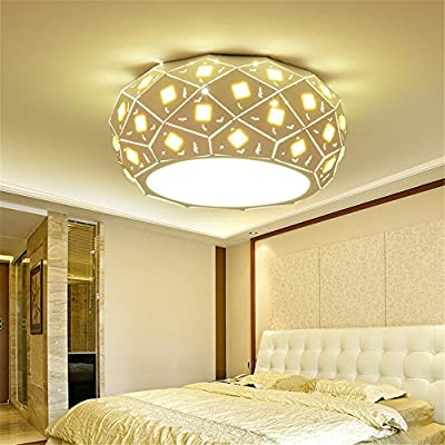 Leihongthebox Led ceiling light the main light iron bed for children Ceiling lamp for Hall, Study Room, Office, Bedroom, Living Room,720mm