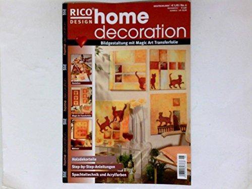 Home Decoration Nr. 6 Rico Design -