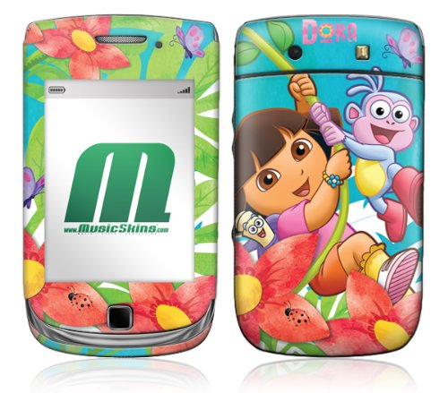 Unbekannt MusicSkins Handy-Klebefolie / Skin für BlackBerry, Dora The Explorer Explorers Wanted