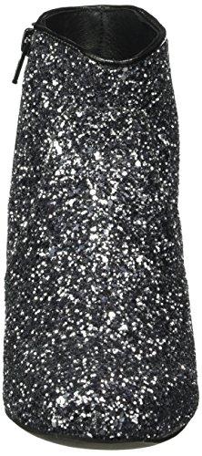 Buffalo Es 30748 Glitter, Bottes Classiques femme Gris - Grau (Pewter 01)