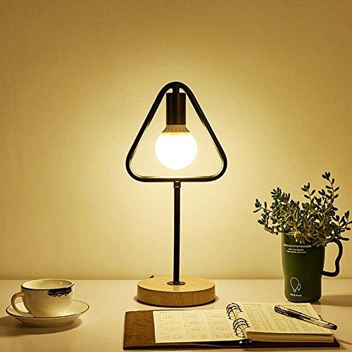 GBT Eisen Tisch Lampe LED Kreative Persönlichkeit Schreibtisch SCHLAFZIMMER Nachttischlampe? LED Lichter, warm, Licht, Weißes Licht, Kronleuchter, innen-Lichter, Leuchten, (Security Kostüm Guard Kind)