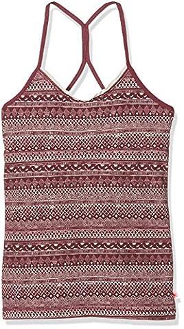 ESPRIT Bodywear Mädchen Unterhemd 106EF5T013, Violett (Berry Purple 520), 170 (Herstellergröße: 170/176)