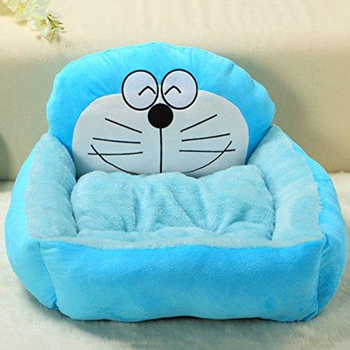 Yxiny casette per cani cuccia per cani four seasons disponibile teddy bichon pet nest piccolo cane letto per cani forniture per gatti (colore : blu, dimensioni : m)
