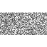 Rayher 3005122 Crepla Platte Glitter, 30x45x0,2cm, silber