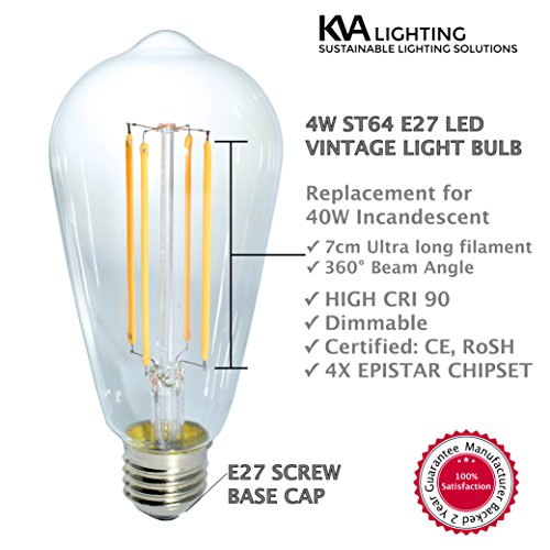 kva-lighting-e27-vintage-led-light-edison-bulbs-antique-retro-style-dimmable-2-pack-tear-shaped-40w-